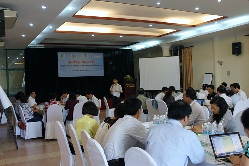 Consultation Workshop for REDD+ Social and Environmental Index - RESI on 14/06/2013 (Photo:  PanNature)