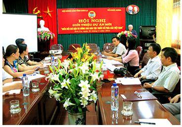 Meeting at Son La Farmers; Union (Photo: Son La Newspaper)