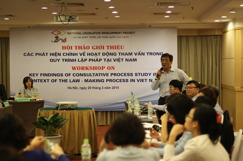 Lawyer, Dr. Hoang Ngoc Giao - Policy, Legal and Development Institute