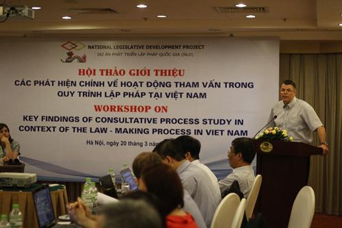 Mr. Isabeau Vilandre - NLD Project Field Manager