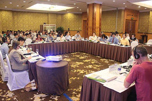 More than 70 participants from different organizations have joined the discussion. (Picture: PanNature)