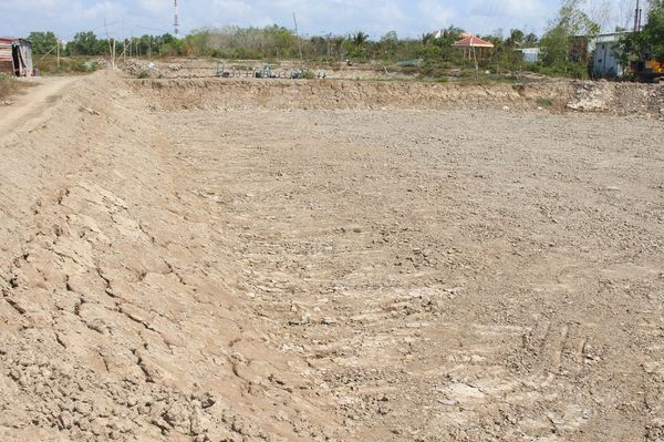 Aquaculture in the Mekong Delta has been facing massive challenges in the record-breaking drought A shrimp farm in Ca Mau province was abandoned (Credit:Nhat Anh)