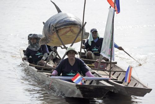 Photographer: The Network of Thai People Handout via EPA